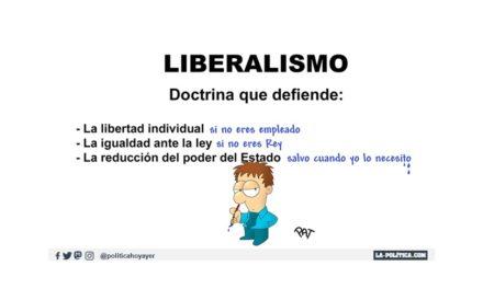 Liberal, según sople el viento