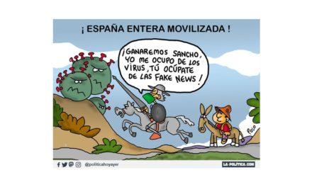 Trabajando contra el coronavirus, sumando solidaridad, humor y humanidad