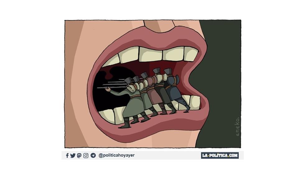 Amenazas de muerte al humorista gráfico peruano Carlín, por una viñeta sobre el ex presidente de Perú Alan García