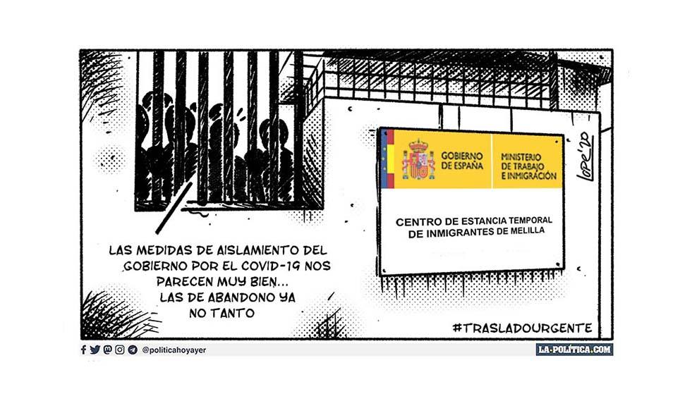 Amnistía Internacional: Las autoridades deben tomar medidas para proteger a los residentes del Centro de Estancia Temporal para Inmigrantes (CETI) de Melilla. #TrasladoUrgente