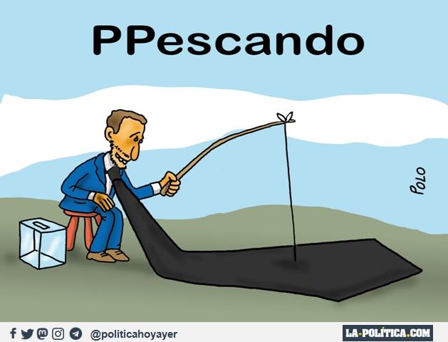 PPescando (Viñeta de Polo)
