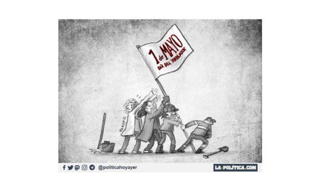 Un Día del Trabajador y la Trabajadora de lucha reivindicativa en las RRSS