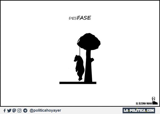 DESFASE. (Viñeta de el último mono)