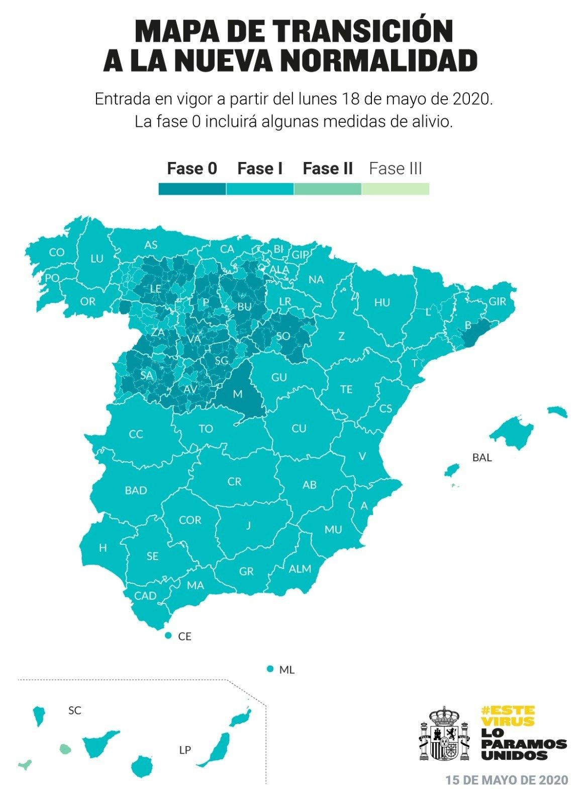MAPA DE TRANSICIÓN A LA NUEVA NORMALIDAD