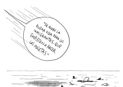 DALMAUS 7- REFUGIADOS - LA POLITICA