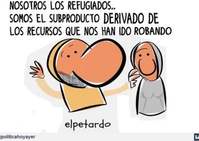 EL PETARDO 1 - REFUGIADOS - LA POLITICA