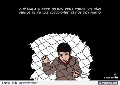 EL ULTIMO MONO 1 - REFUGIADOS - LA POLITICA
