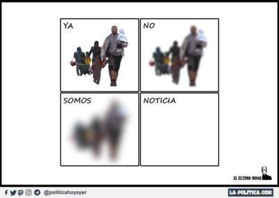 EL ULTIMO MONO 2 - REFUGIADOS - LA POLITICA
