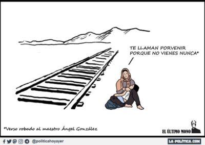 EL ULTIMO MONO 3 - REFUGIADOS - LA POLITICA