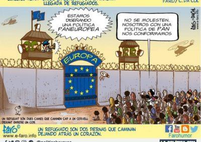 FARO 1 - REFUGIADOS - LA POLITICA