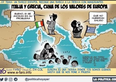 FARO 7 - REFUGIADOS - LA POLITICA