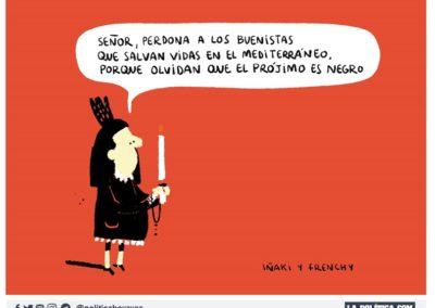 IÑAKI Y FRENCHY 1 -REFUGIADOS - LA POLITICA