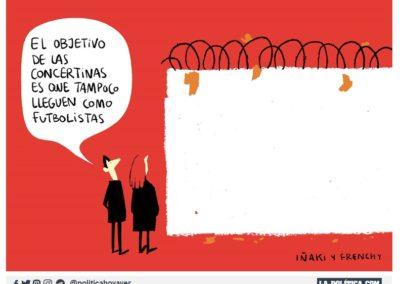 IÑAKI Y FRENCHY 5 - REFUGIADOS - LA POLITICA