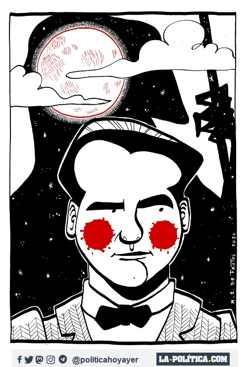 Federico García Lorca. (Viñeta de Manuel S. de Frutos)