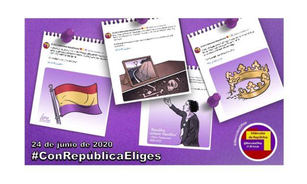 #ConRepúblicaEliges. La selección de Miércoles de República de 24 de junio de 2020