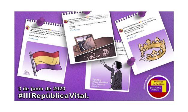 #IIIRepúblicaVital. La selección de Miércoles de República de 3 de junio de 2020