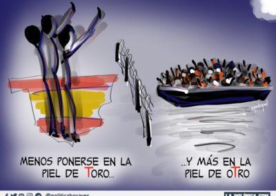 PEDRIPOL 11 - REFUGIADOS - LA POLITICA