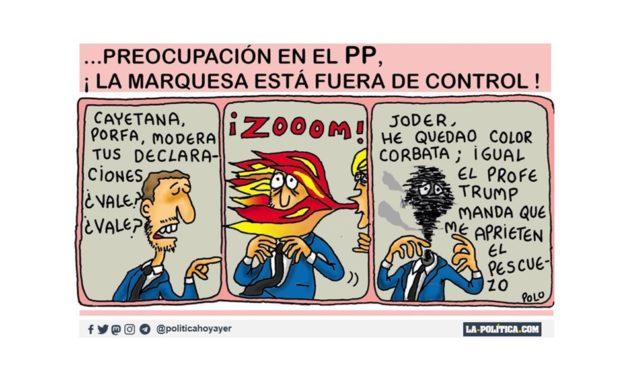 Cayetana Álvarez de Toledo ha sido apartada por su partido de la comisión parlamentaria de Reconstrucción Social y Económica