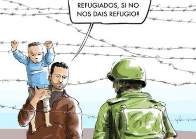QUIM 1 - REFUGIADOS - LA POLITICA