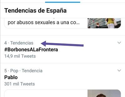 TT del HT #BorbonesALaFrontera - 17-06-2020