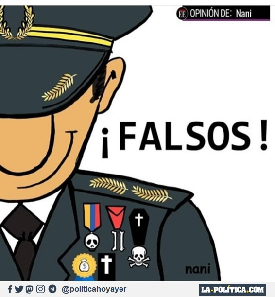 """¡FALSOS! (""""Falsos positivos""""Viñeta de Nani)"""