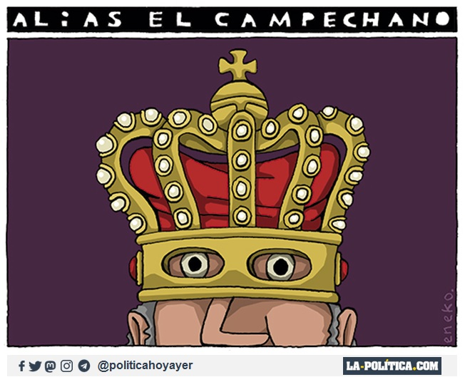 ALIAS EL CAMPECHANO. (Viñeta de Eneko)
