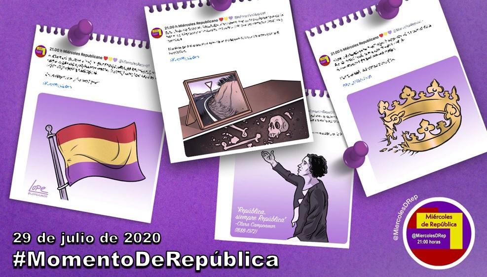 #MomentoDeRepública. La selección de Miércoles de República de 29 de julio de 2020