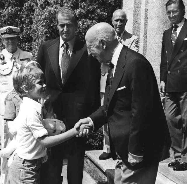 Franco, Felipe VI y Juan Carlos I