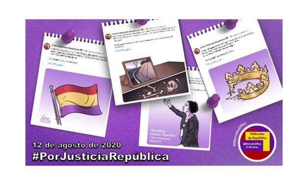 #PorJusticiaRepública. La selección de Miércoles de República de 12 de agosto de 2020
