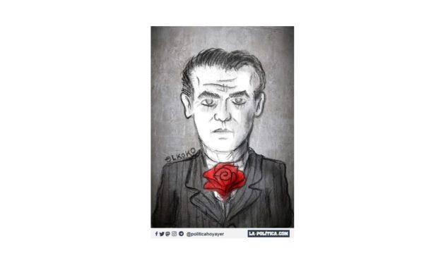 Hoy hace 84 años que los fascistas asesinaron al poeta y dramaturgo universal Federico García Lorca. Acusaciones: socialista, masón y homosexual