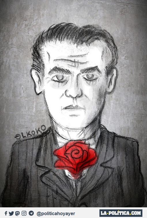 Federico García Lorca (Viñeta de ELkoko)