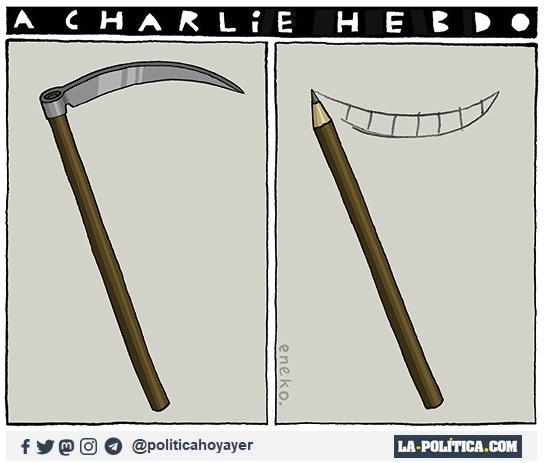 A Charlie Hebdo (Viñeta de Eneko)