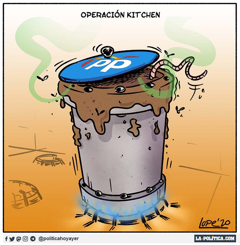 Operación Kitchen (Viñeta de Lope)