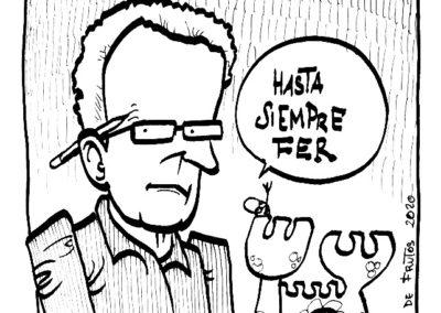 Viñeta homenaje a Fer - Manuel S. de Frutos