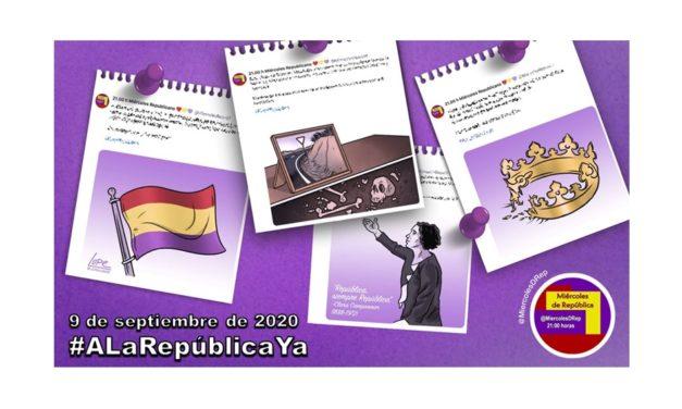 #ALaRepúblicaYa. La selección de Miércoles de República del 9 de septiembre de 2020