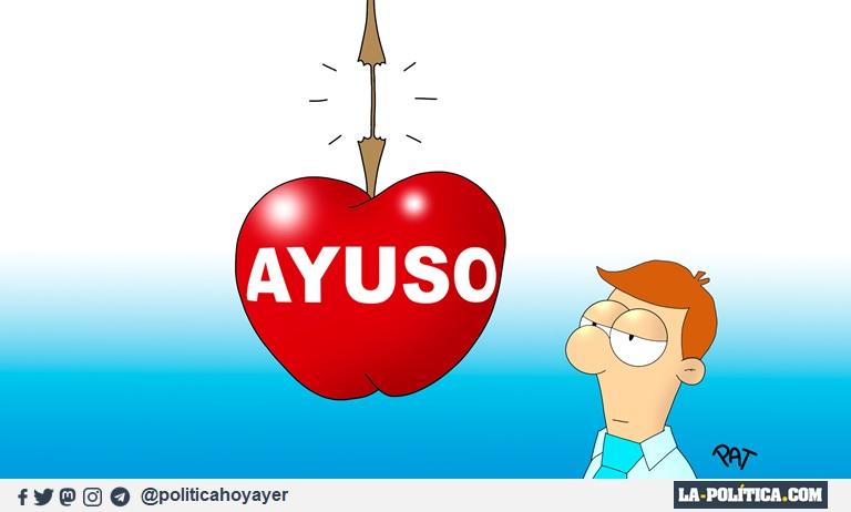 AYUSO (Viñeta de Pat)