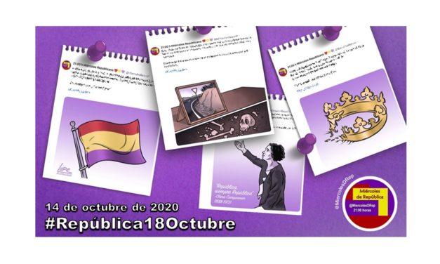 #República18Octubre. La selección de Miércoles de República del 14 de octubre de 2020