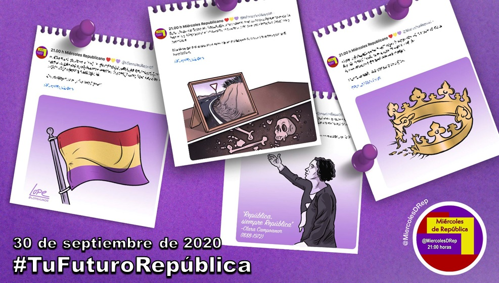 #TuFuturoRepública. La selección de Miércoles de República del 30 de septiembre de 2020