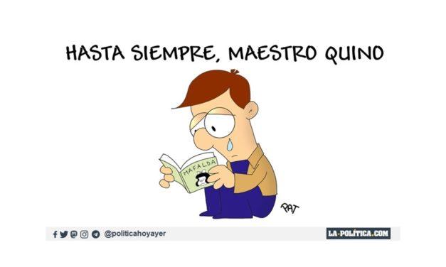 Gracias por tanto, maestro Quino