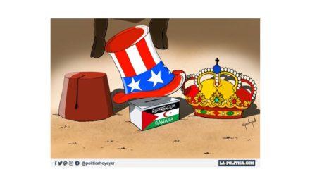 Juan Carlos I incumplió el derecho internacional al entregar el Sahara Occidental al rey de Marruecos, para conseguir el beneplácito de Estados Unidos y el apadrinamiento de Arabia Saudí en la restauración borbónica en España