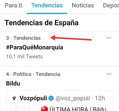 TT DEL HT #PARAQUEMONARQUIA DE MIERCOLES DE REPÚBLICA