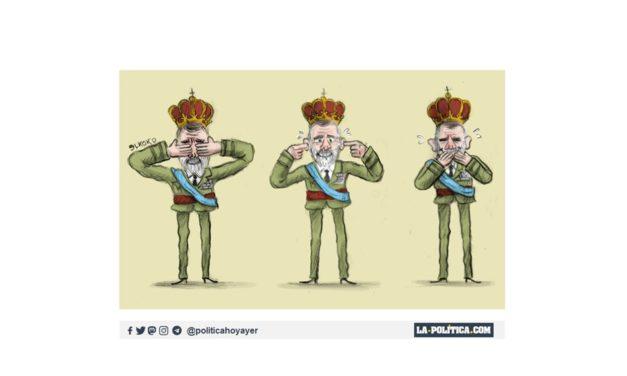 Ni Rey, ni Jefe de Estado, solo Heredero Complaciente