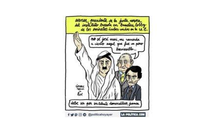 Aznar ayuda a lavar la imagen de los Emiratos Árabes Unidos ante la UE desde un lobby en Bruselas: el Instituto Bussola