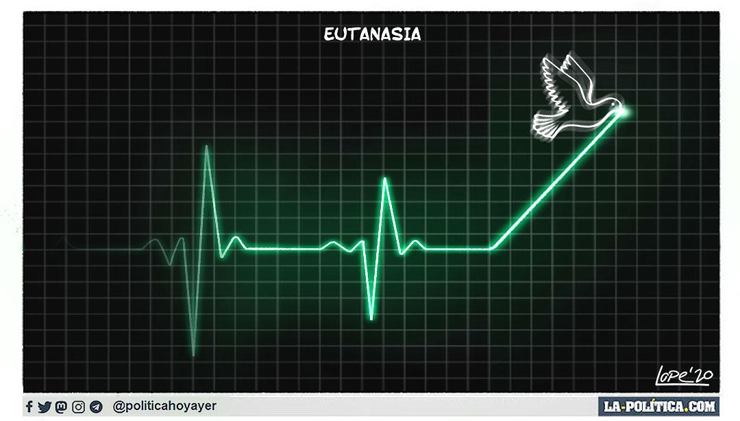 EUTANASIA (Viñeta de Lope)
