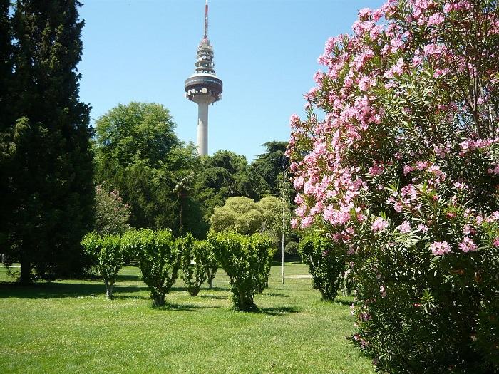 Vista del Parque de la Fuente del Berro, Madrid, España. Foto: De Cillas