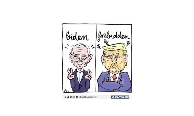 ¡Adiós Mr. Trump! ¡Hola Mr. Biden!