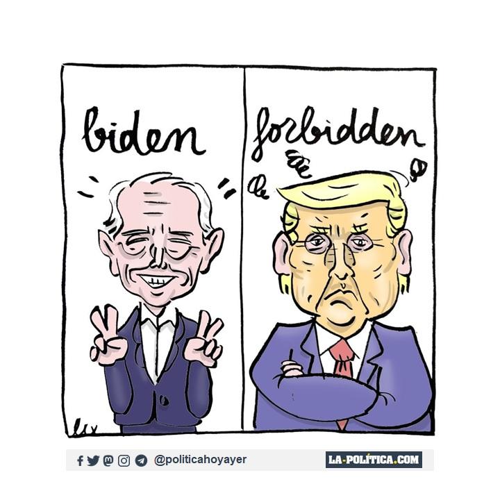 BIDEN - FORBIDDEN (Viñeta de Lex)