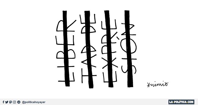 Libertad de Expresión. (Viñeta de Anonimio)