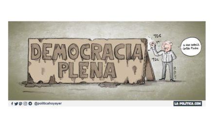 España, una democracia de cartón piedra