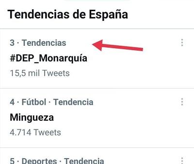 TT del HT #DEP_Monarquía - 03-04-2021